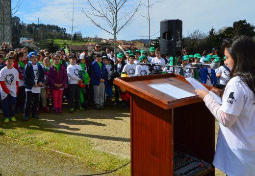 """""""Adeus ríos, adeus fontes"""" reunirá medio milleiro de nenos e nenas arredor da celebración do Día Internacional dos Bosques e do Día Mundial da Auga"""