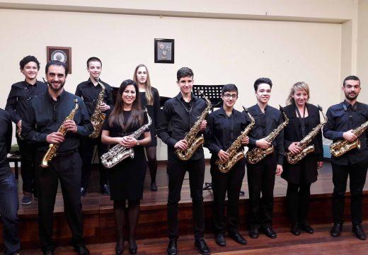 Dúas audicións dos alumnos da Aula Galega de Saxofón na pasada fin de semana