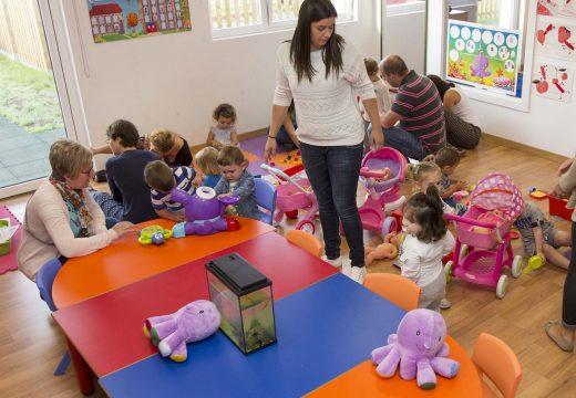San Sadurniño abre o período de reserva de praza na Escola Infantil Municipal «A Rolada»
