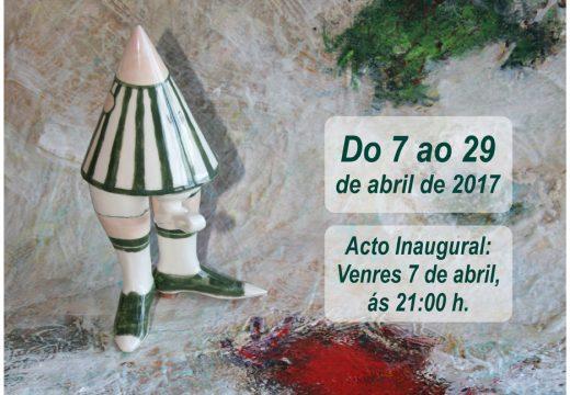 """Nova exposición no Lustres Rivas a partir do 7 de abril: """"O cangrexo verde"""" dos artistas muradanos Fernando e Roque Rey"""