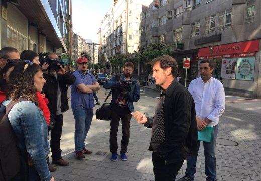Jorge Duarte visita Montero Ríos para explicar as claves da humanización da rúa