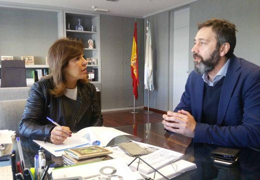 Augas de Galicia analizará a posibilidade de completar a rede de abastecemento en Vilasantar