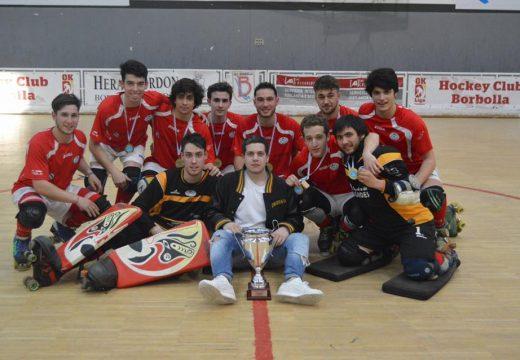 O A.C. Órdenes campeón galego júnior de hóckey
