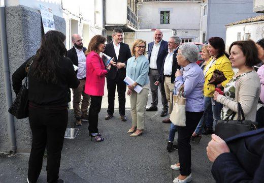 As obras de reurbanización de varias rúas do concello de Carral estarán rematadas este verán