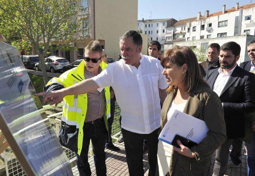 A Xunta avanza un paso máis no saneamento integral da Ría do Burgo co inicio das obras do tanque de tormentas de Santa Cruz