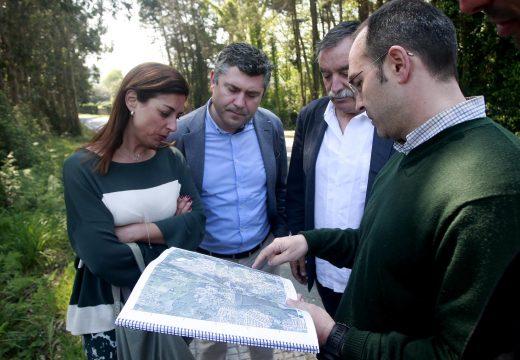 A Xunta somete a información pública a construcción de dous tramos da senda peonil das pedreiras, no concello de Oleiros