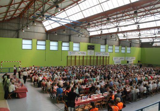 Máis de 650 persoas participaron no Día das Persoas Maiores do Concello de Oroso