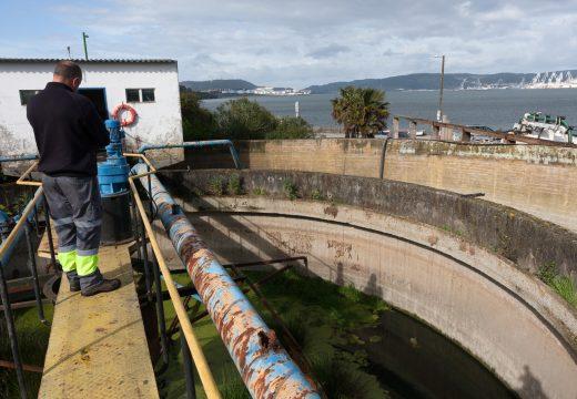 O Concello de Fene insta a Viaqua a que remate o baleirado da EDAR de Maniños no prazo máximo de 15 días