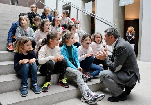 Máis de 20.000 persoas visitaron en grupos organizados as exposicións do Museo de Belas Artes da Coruña durante 2016