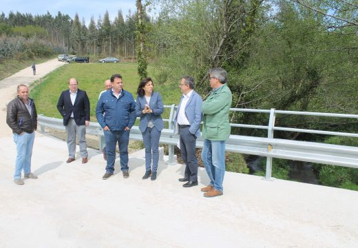 Medio Rural investiu preto de 120.000 euros na mellora e arranxo de tres pontes en Frades