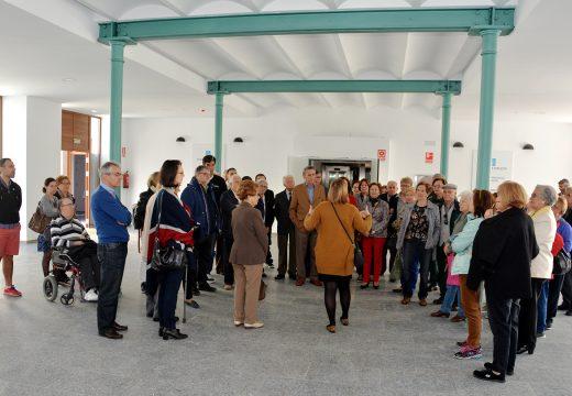 Preto de 600 persoas aproveitaron a última xornada de portas abertas na Fábrica de Tabacos para ver o resultado das obras