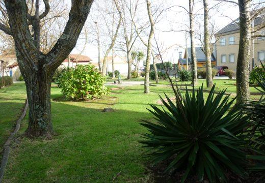 O concello activa a mellora dos parques da Tasca en Aguiño e Abesadas en Riveira