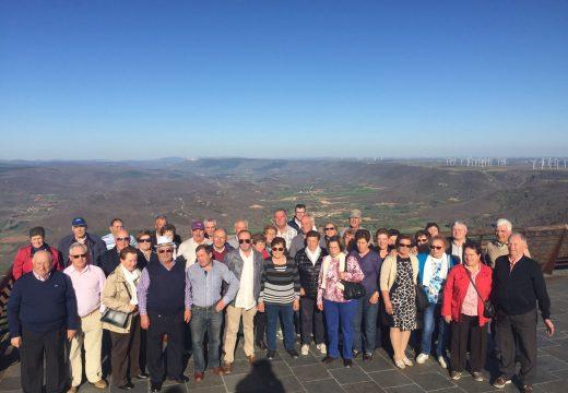 Corenta veciños e veciñas de Frades participan nunha excursión a Palencia e Valladolid