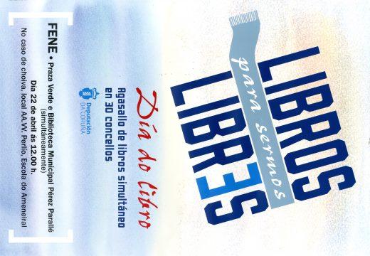 """Fene participa na campaña """"Libros para sermos libres"""", promovida pola Deputación e 30 concellos da provincia"""