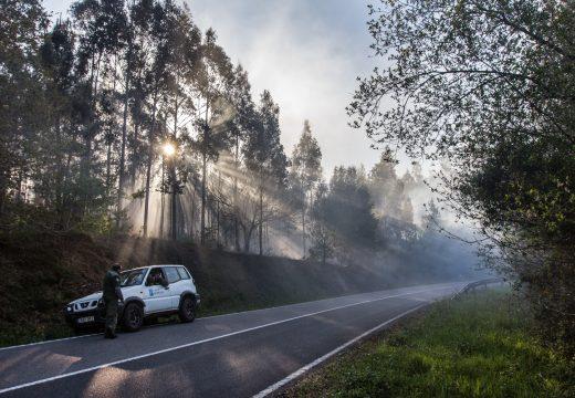 Dous novos incendios afectáronlle a San Sadurniño esta mañá