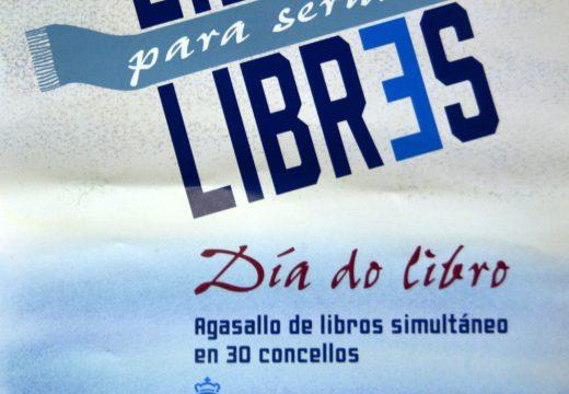 O concello de Riveira celebrará o Día do Libro repartindo máis de 300 volumes de distintos xéneros na Biblioteca Municipal