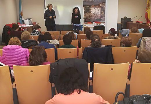 A concelleira Susana García clausura o curso de competencias clave