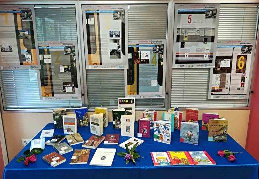 Mostra de Carlos Casares na biblioteca municipal