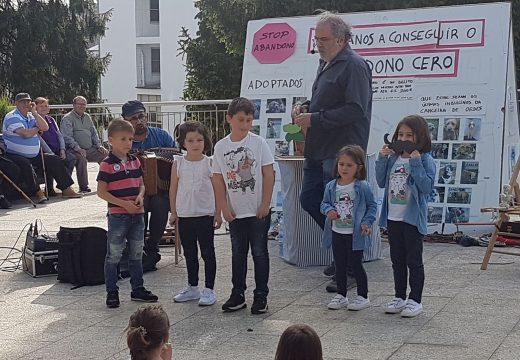 Monicreques e música na alameda para pechar o programa do Día das Letras Galegas