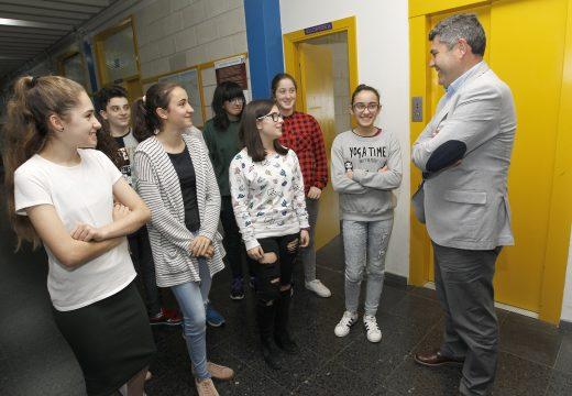 A Xunta felicita ao equipo do CPI A Xunqueira de Fene, que vén de representar a Galicia na Final Estatal da First Lego League