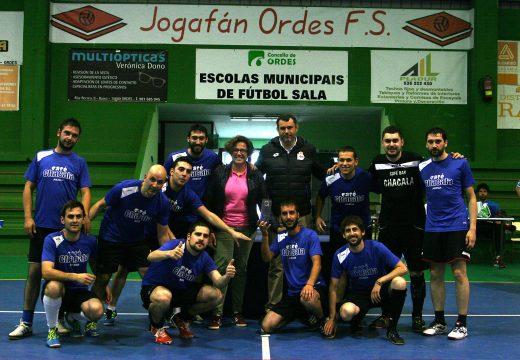 O Arzúa proclámase vencedor do XX Trofeo Intermunicipal de Fútbol Sala