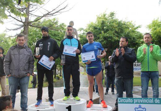 O ordense David Santos Domínguez e a aresá Paula Mayobre González gañan a IV Carreira Pedestre de Frades