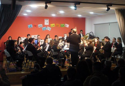 Touro celebrou o Día das Letras Galegas cun concerto da Banda de Música Isabel II
