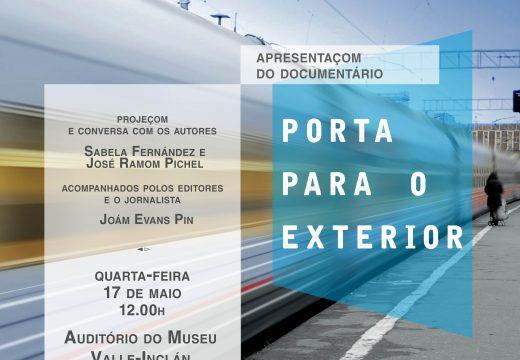 """O mércores 17, Día das Letras Galegas"""", o Concello da Pobra proxectará o documental """"Porta para o exterior"""""""