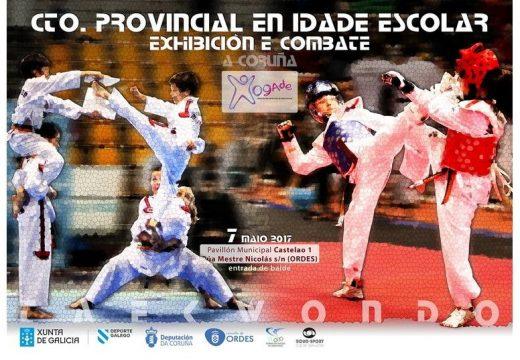 Este domingo Ordes acollerá o Campionato Provincial de Taekwondo en Idade Escolar
