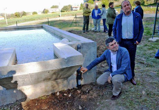 A Xunta habilita un punto de auga para abastecer con ata  192.000 litros a aéronaves e motobombas de loita contra o lume