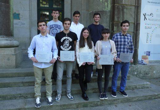 Os alumnos/as que participaron na XXXIV Olimpíada Galega de Química recolleron en Compostela os seus diplomas