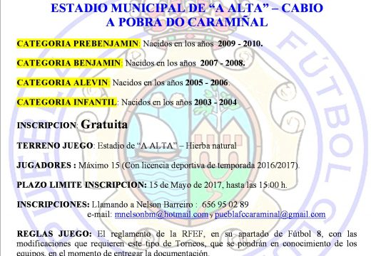 CAMPIONATO PROVINCIAL DE ATLETISMO en PISTA INDIVIDUAL