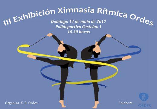 III Exhibición Ximnasia Rítmica Ordes