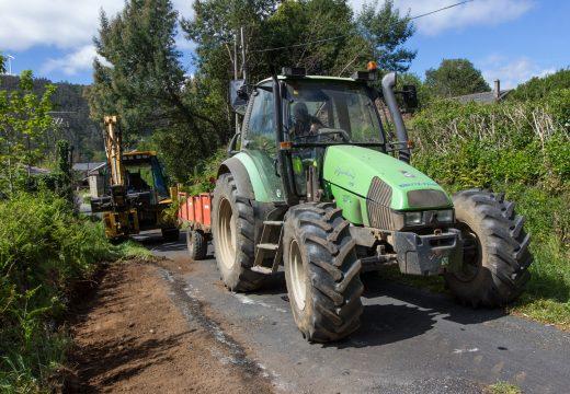 San Sadurniño e Moeche finalizan o programa conxunto de limpeza de cunetas