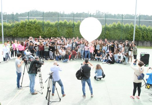 IES Maruxa Mallo, lugar de lanzamento para a primeira sonda estratosférica da Axencia Espacial Escolar Galega