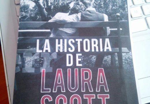 """Maximino Pérez Abuin presentará este sábado 27 de maio en Lousame o seu libro """"La historia de Laura Scott"""", ambientado en San Finx"""