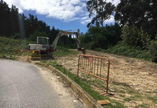 Arranca a obra municipal de rectificación do vial de acceso a urxencias do Hospital