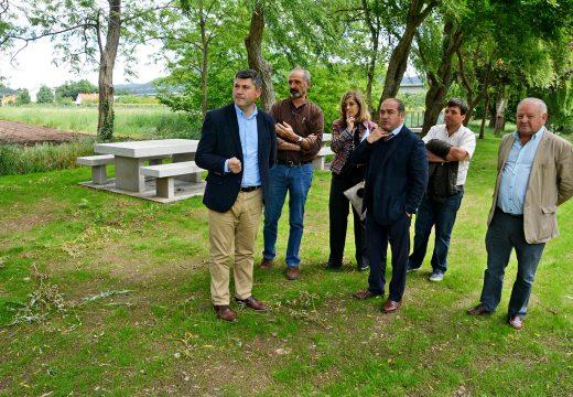 A Xunta inviste preto de 60.000 euros no acondicionamento e recuperación da área recreativa fluvial de Seira, en Rois