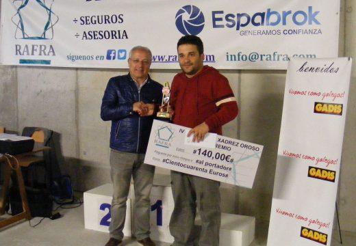 O mestre FIDE Fernando Sánchez Aller gaña o IV Torneo de Xadrez Concello de Oroso