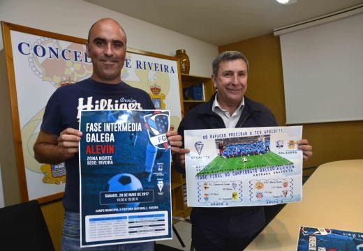 Oito equipos optarán mañá na fieiteira a unha praza para disputar a fase final do Campionato Galego Alevín de Fútbol-8
