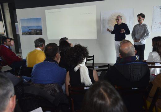 O modelo de crecemento de Arousa Norte, a debate nun workshop propiciado polo arquitecto David Chipperfield