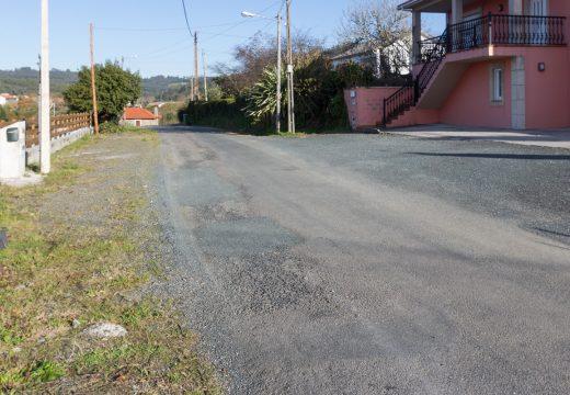 San Sadurniño licita as obras de aglomerado e de construción de beirarrúas no camiño do Enxerto