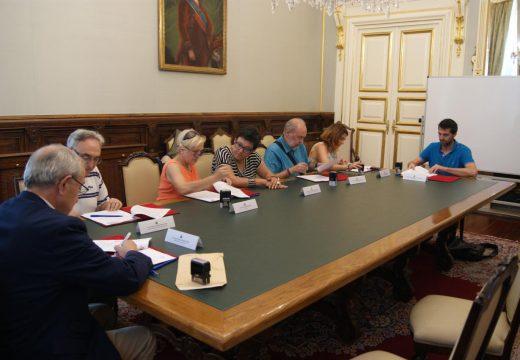 Asinados seis novos convenios con entidades sociais por importe próximo a 200.000 euros