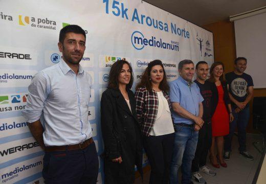 A carreira 15k Arousa Norte atravesará os municipios de Riveira, A Pobra e Boiro