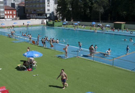 A piscina municipal do Muíño abre as súas portas