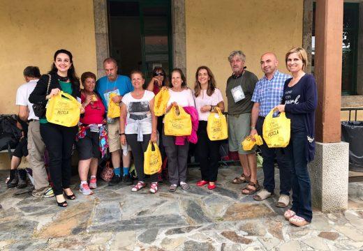 Xunta e Ecoembes amplían a campaña para o fomento da reciclaxe  de envases no camiño ao itinerario do Norte