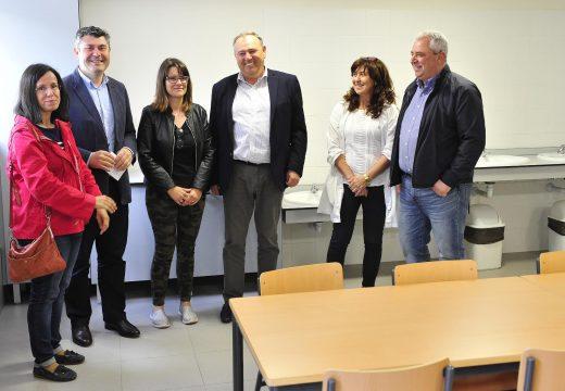 O CEIP Alfredo Brañas da Laracha estrea o seu comedor escolar grazas a un investimento da Xunta de 30.000 euros
