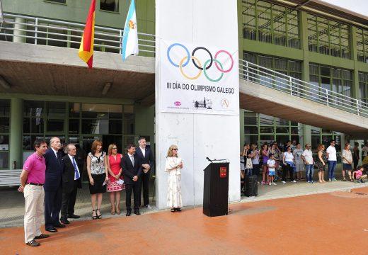 """Marta Míguez destaca a """"alegría do esforzo"""" e a """"responsabilidade social"""" como valores do olimpismo que """"queremos para a nosa terra e para as nosas xentes"""""""