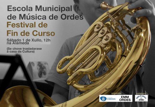 Festival de fin de curso da Escola Municipal de Música de Ordes