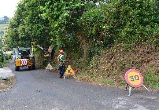 Cambre comeza hoxe cos desbroces nas estradas despois de municipalizar o servizo